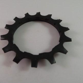 14T Uniglide Freewheel Cog wSpacer, Black fits 600EX 6 speed