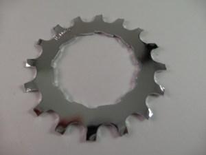 16T Uniglide Freewheel Cog fits 600EX 6sp & Dura Ace 67sp, chrome