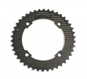 Carbon Ti Aluminum & Carbon Fiber 40T x 120mm BCD Chainring