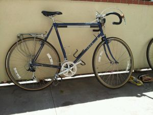 1985 Trek 620 Touring Bicycle, 47 cm stays, includes lots of NOS extras