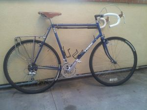 1989 Trek 520 Touring Bicycle, with new tires, tubes, cassette