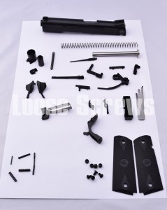"Rock Island Armory 1911 5"" Full Size Tactical Builder's Kit 9mm RIA NON-RAMPED Parts"