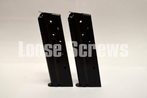 1911 40S&W Magazine (2-PACK) Metalform Full Size 8 Round RIA Factory USA Blue