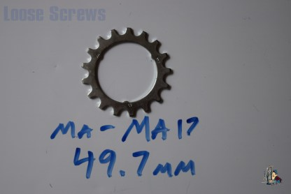 "Maillard 700 Freewheel ""MA"" 5 6 and 7 speed 17T Cog"