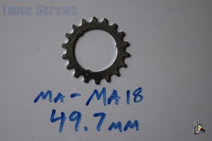 "Maillard 700 Freewheel ""MA"" 5 6 and 7 speed 18T Cog"