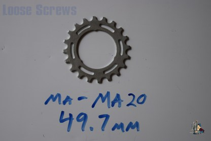 Maillard 700 Freewheel MA 5 6 and 7 speed 20T Cog