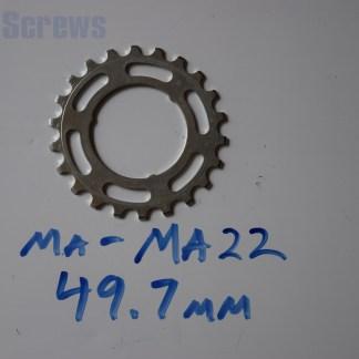 "Maillard 700 Freewheel ""MA"" 5 6 and 7 speed 22T Cog"