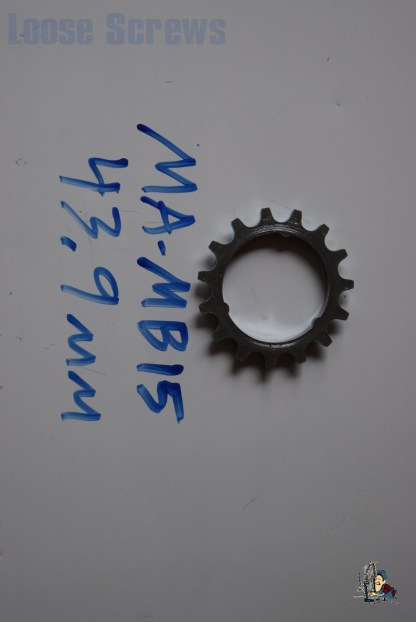 Maillard 700 Freewheel MB 5 and 6 speed 15T Cog with built in Spacer