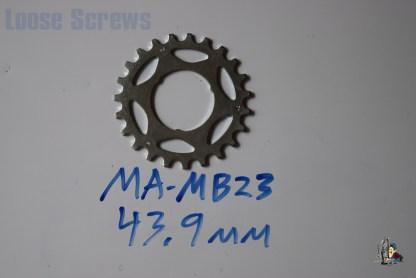 "Maillard 700 Freewheel ""MB"" 5 6 and 7 speed 23T Cog"