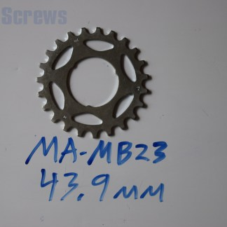 "Maillard 700 Freewheel ""MB"" 5 6 and 7 speed 23T Cog"