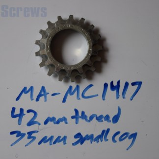 Maillard 700 Course Freewheel MC 7 speed 14T & 17T threaded Cog
