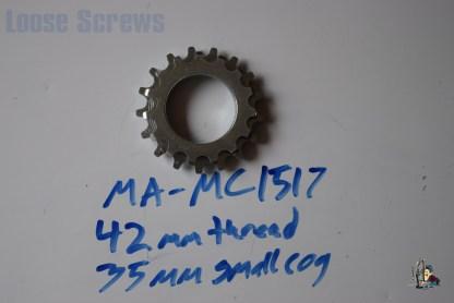 Maillard 700 Course Freewheel MC 7 speed 15T & 17T threaded Cog