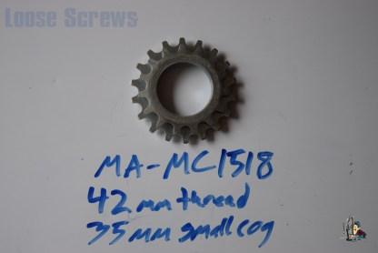 Maillard 700 Course Freewheel MC 7 speed 15T & 18T threaded Cog