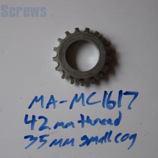 Maillard 700 Course Freewheel MC 7 speed 16T & 17T threaded Cog
