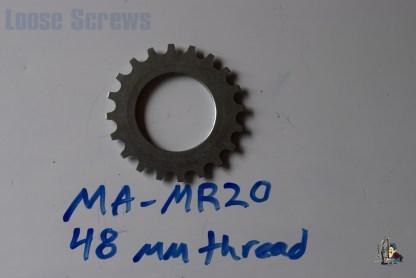 "Maillard 700 Freewheel ""MR"" 6 and 7 speed 20T threaded Cog"