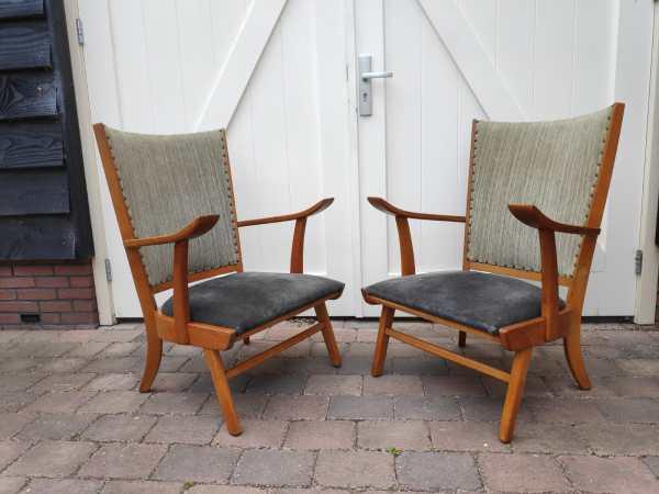 Set fauteuils Deens design
