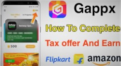 Gappx App refer and earn