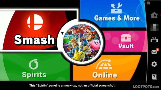 Uncovering The Mysterious Menu Item In Super Smash Bros Ultimate LootPots
