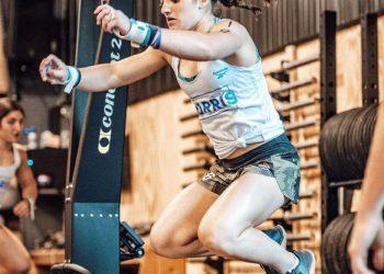 Chloe Honaker trains ahead of the CrossFit Games. (Photo courtesy of CrossFit Coal)
