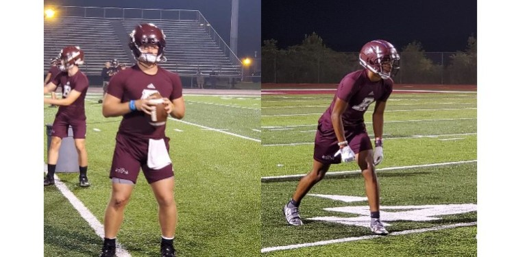 Beckley's Maddex McMillen (left) and Keynan Cook (right).