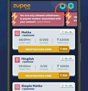 Proof)Zupee Gold Game Loot - Get Free Rs 40 Paytm Cash On