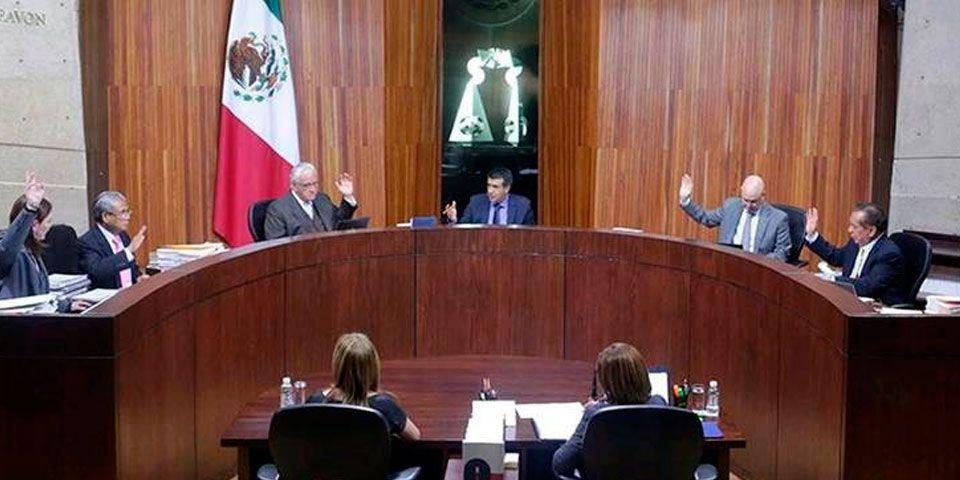 Los magistrados del TEPJF afirmaron que Xochitl Gálvez no violó ley electoral por entrevistas. Foto de El Universal