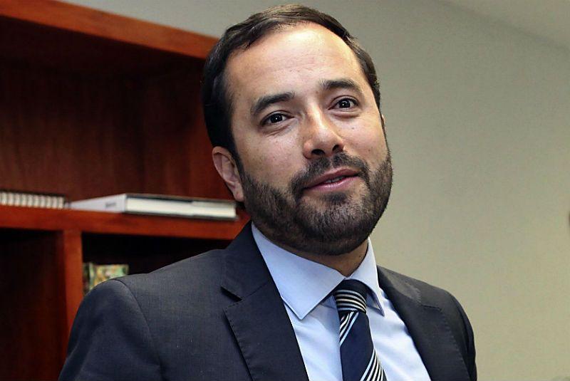 Víctor Hugo Romo, exdelegado de Miguel Hidalgo. Foto de