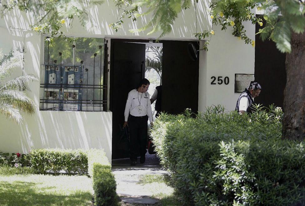 La vivienda es el número 250 del fraccionamiento en la colonia Altamira. Foto de Milenio.