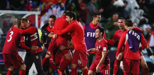 Maksimovic le dio el triunfo a Serbia sub 20. Foto de FIFA