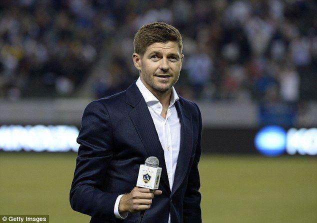 Gerrard fue presentado frente a los fans del Galaxy. Foto de Getty Images