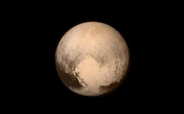 Primera foto de Plutón. Foto: Nasa