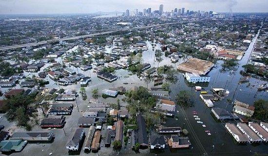 Nueva Orleans después de Katrina. Foto tomada de Guardian