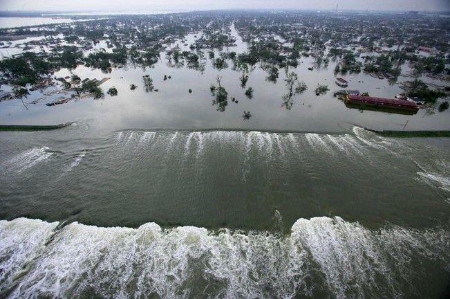 Nueva Orleans después de Katrina. Foto de Internet
