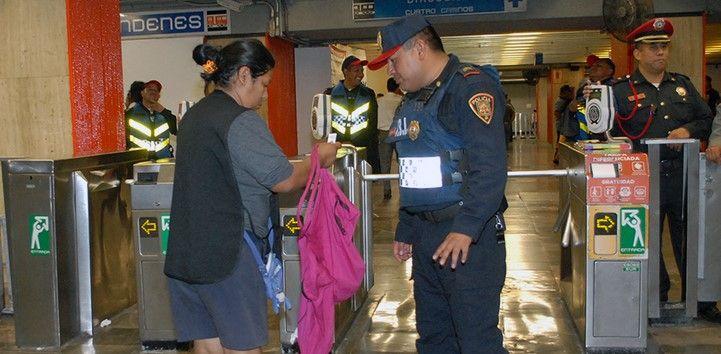 382 vendedores ambulantes fueron remitidos como parte del operativo. Foto de STC Metro