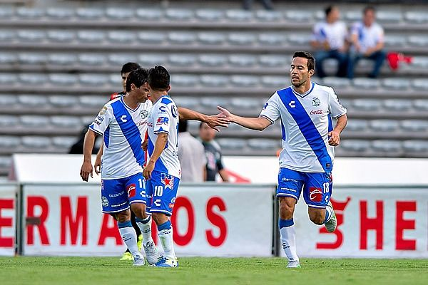 Puebla creyó en la remontada tras el primer gol de Rey. Foto de Mexsport