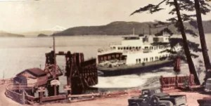 ferry dock late 1950's