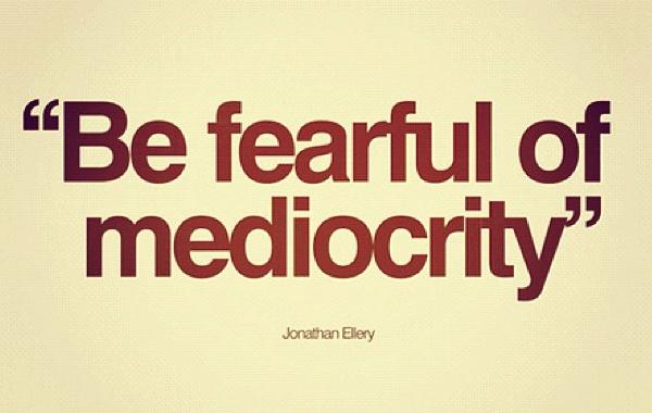L'irresistibile attrazione della mediocrità