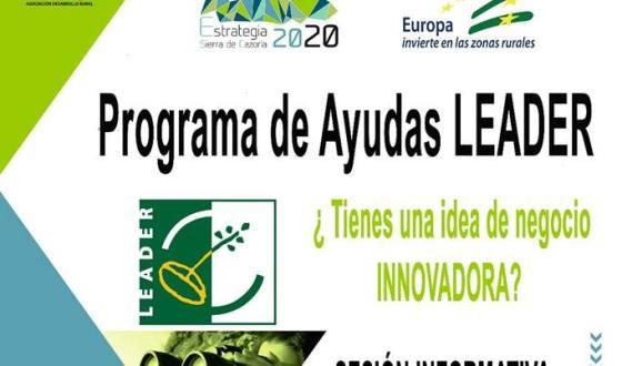 Las ayudas Leader se presentan en Pozo Alcón