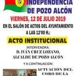 Sobrio acto  para  la celebración del día de la independencia