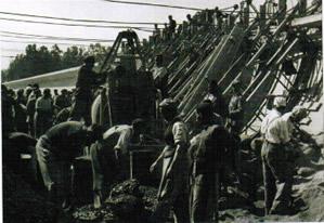 Esclavos republicanos durante el franquismo
