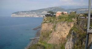 Los acantilados de Sorrento