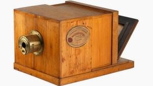 Cámara de daguerrotipia de la casa Daguerre