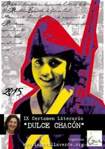 """IX Certamen Literario """"Dulce Chacón"""""""
