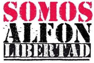 #AlfonLibertad ¡Basta de criminalización!