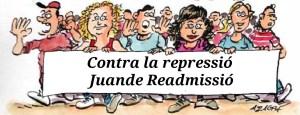 Contra la represió Juande Readmissió