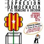 Soberanía de Cataluña y Libertad de Expresión