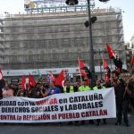 Los sindicatos de clase en Madrid, apoyan la huelga en Cataluña