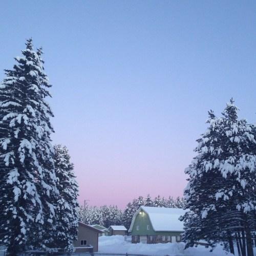 winter sunrise ig