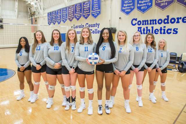 2019 LCCC Volleyball Team