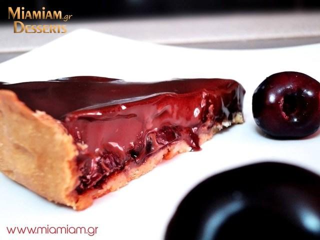 Chocolate-Chery-tart